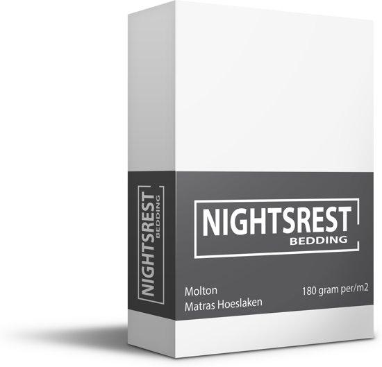 Nightsrest Molton Matras Beschermer Maat: Lits-jumeaux (180x200/220 cm)