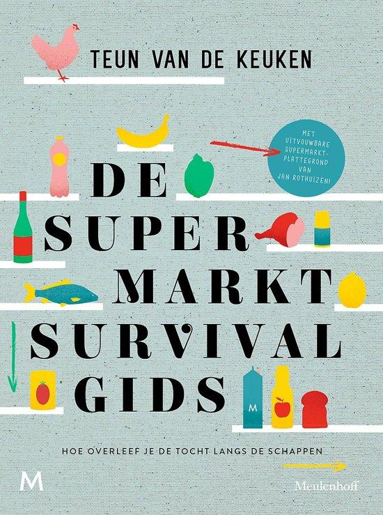 Boek cover De supermarktsurvivalgids van Teun van de Keuken (Paperback)