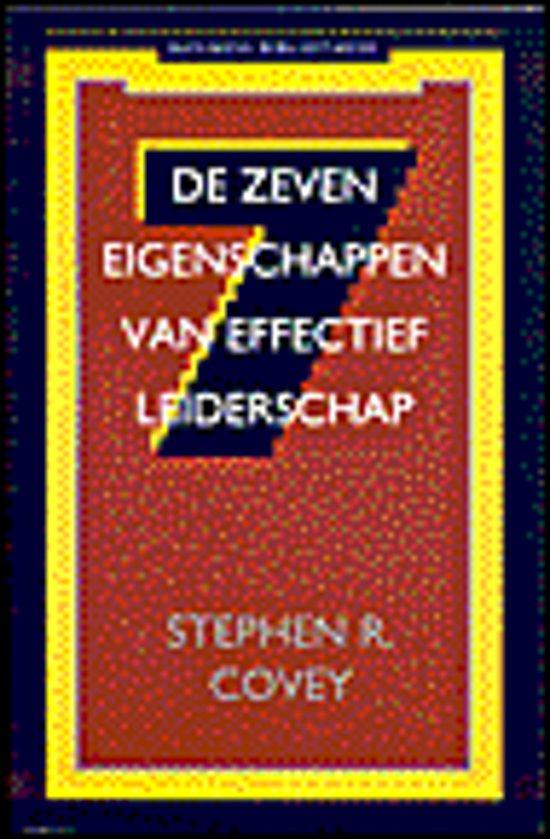 Boek cover De business bibliotheek De zeven eigenschappen van effectief leiderschap van Stephen R. Covey (Paperback)