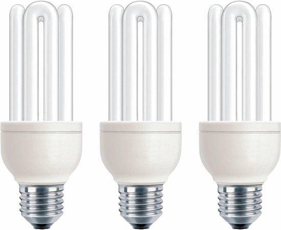 Philips Spaarlamp Genie 18W E27 - 3 stuks