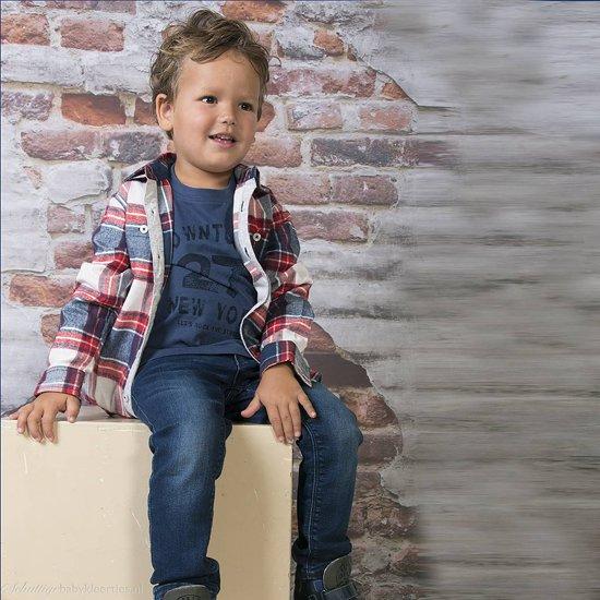 Longsleeve Down Town jeans Blue Seven -  Maat  128