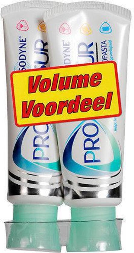 Sensodyne Proglasur - 2x 75 ml - Tandpasta - Voordeelverpakking