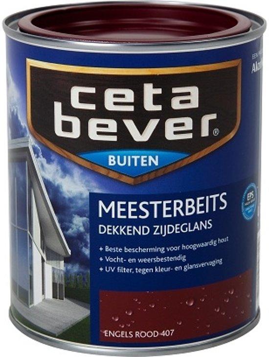 Onwijs bol.com | Cetabever Dekkende Meesterbeits - 0,75 liter - Engels Rood NM-62