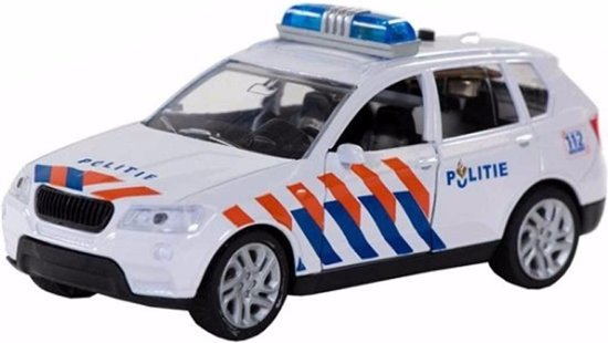 112 Politieauto met licht en geluid