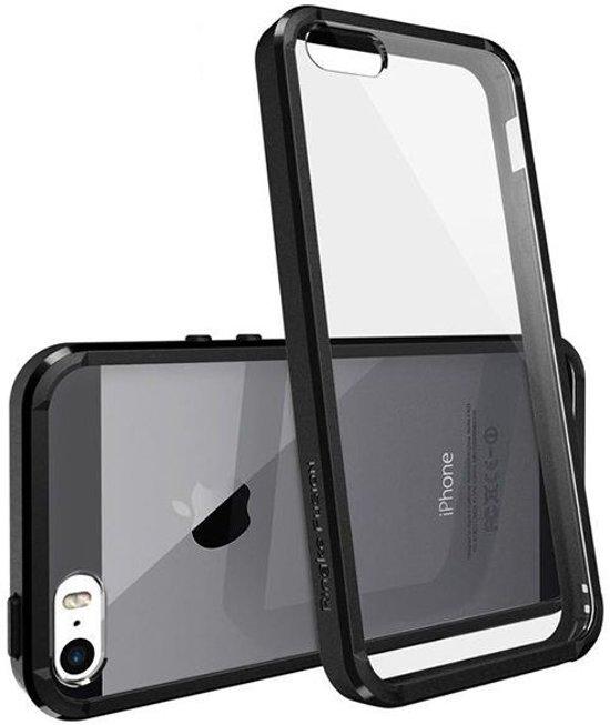 Ringke Fusion Hoesje Apple iPhone SE Zwart