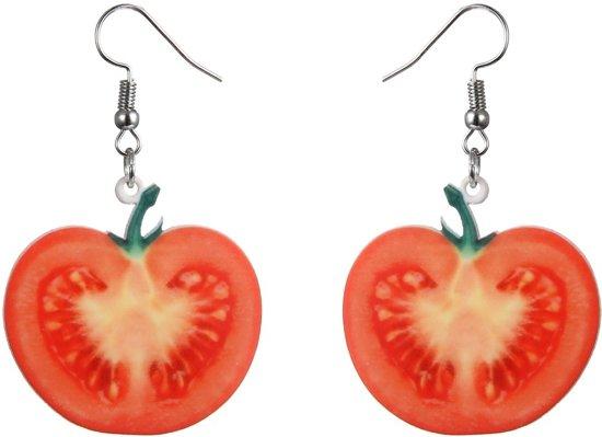 Fako Bijoux® - Oorbellen - Groente & Fruit - Tomaat