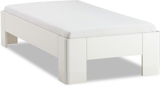 Matras 1 Persoons : Bol.com bed fresh 400 met lattenbodem en matras 1 persoons