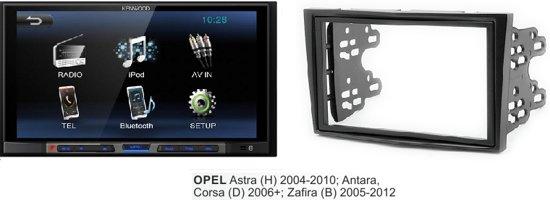 Opel Astra (H) 2004 - 2010 <br />(piano zwart) kenwood autoradio met bluetooth in Wanfercée-Baulet&#8221; /></a><br /> <!--googleon: index--></p> <h2>Dubbel din | Bluetooth</h2> <p>Opel Astra (H) 2004 -2010 kenwood autoradio met bluetooth<br />Kenwood autoradio met frame voor de volgende modellen:</p> <p>Double-DIN Set<br />• Opel Astra (H) 2004 -2010 kenwood autoradio met bluetooth<br />Vergelijkbaar altijd dashboard met foto/frame of het overeenkomt.<br />Stuurbedieningsinterface niet inbegrepen indien u dit nodig heeft.<br />Let op heeft u een bose sound systeem dan moet er een extra kabel bij.</p> <p>De Kenwood is een 2DIN autoradio waar je de mogelijkheid op hebt om al je muziek digitaal te streamen door middel van de ingebouwde bluetooth installatie. Naast de bluetooth functie kan je ook je apparaten, zoals je smartphone erop aansluiten door middel van een usb kabel. Deze autoradio beschikt over een 6,8 inch touchscreen beeldscherm. Dit grote scherm is ook mogelijk om te gebruiken als achteruitrijcamera. Met de 7-bands equalizer is de geluidsweergave volledig af te stemmen op je eigen voorkeuren.</p> <p>Specificaties:<br />– 2DIN autoradio<br />– Bluetooth bellen &#038; muziek streaming<br />– 6.8 inch touchscreen ( te gebruiken als achteruitrijcamera)<br />– Usb ingang<br />– 7-bands equalizer<br />– Bassboost<br />– RDS</p> <p>Belangrijke eigenschappen:</p> <p>6.8″ Wide VGA, Clear Resistive Touch Panel<br />Geïntegreerde Bluetooth: HFP 1.6 &#038; A2DP<br />Bluetooth Wireless Muziek Browsing<br />7-bands grafische equalizer.<br />3 RCA Preouts (Front/Rear/Sub) 2.0V<br />1AV-in, 1AV-out, Achteruitrijcamera in<br />1 x USB, 1A Max laadspanning<br />Compatibel met iPhone / iPod<br />Weergave van MPEG1 / MPEG2 / MPEG4-videobestanden<br />Weergave van MP3/WMA/AAC Audio bestanden (EAN code: 7434014970999 ) (ID: 9200000076794661 Kenwood audio) Zal je binnenkort eveneens opnieuw make up kopen in Wanfercée-Baulet ? <!--googleoff: index--><a class=