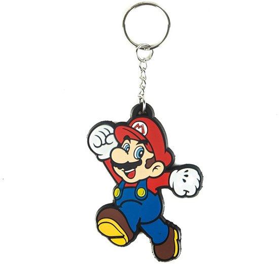 Nintendo Mario Rubberen sleutelhanger