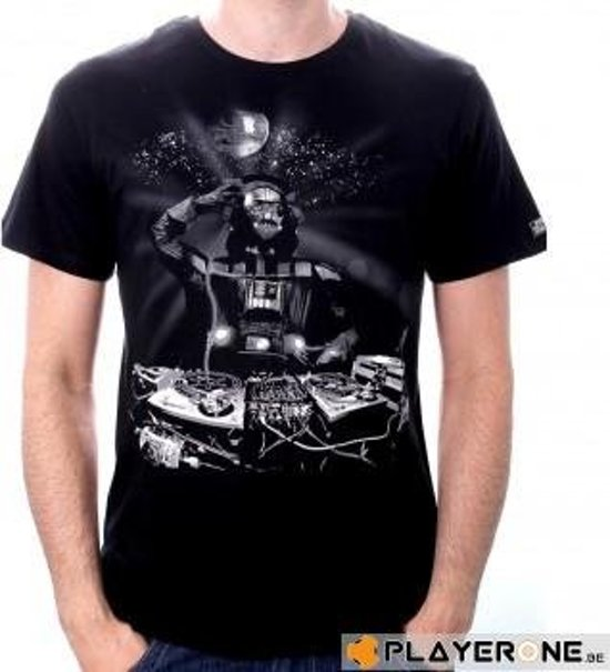 Merchandising STAR WARS - T-Shirt DJ Vador Black (M)