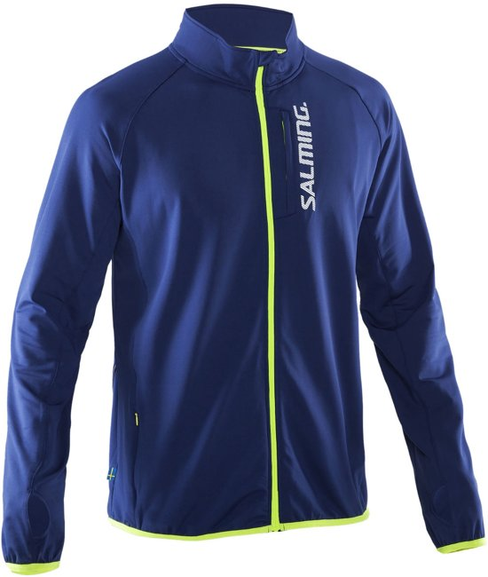 Salming Thermo Running Jack - Hardloopjas - Unisex - Maat L - Navy