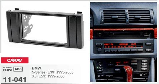 2-DIN BMW 5-Series (E39) 1995-2003; X5 (E53) 1999-2006  inbouwpaneel Audiovolt 11-041