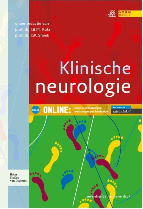 Boek cover Klinische neurologie van J.B.M. Kuks (Paperback)