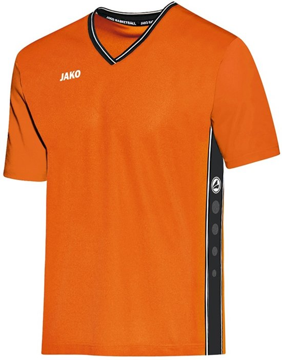 Jako - Shooting shirt Center - fluo oranje/zwart - Maat XXL