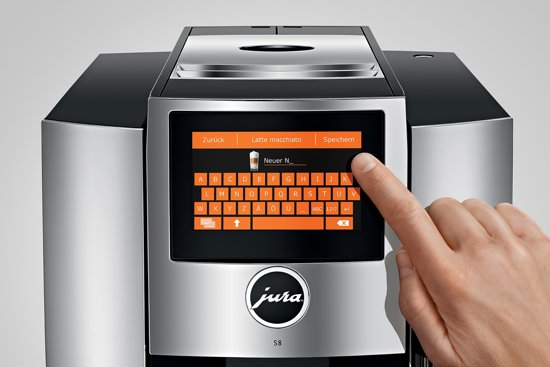 Jura S8 Chroom