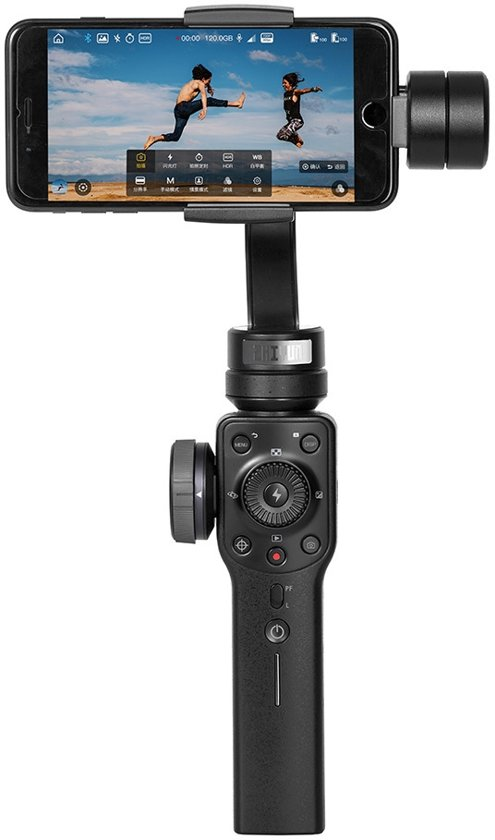 Zhiyun Smooth 4 - 3-as gimbal voor smartphone - zwart