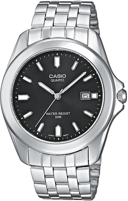 Casio MTP-1222A-1AVEF - Horloge - 41.2 mm - Staal - Zilverkleurig