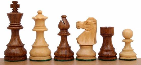Afbeelding van het spel French Sheesham No 5 schaakstukken