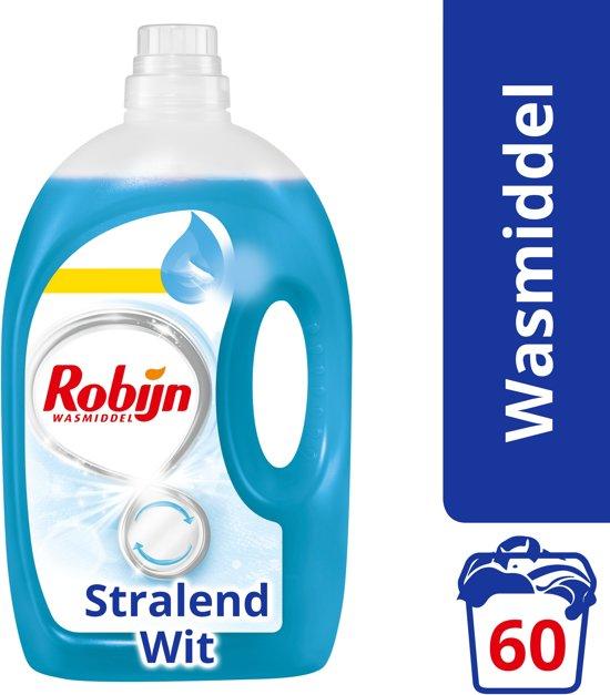 Robijn Stralend Wit Vloeibaar - 60 wasbeurten - Wasmiddel