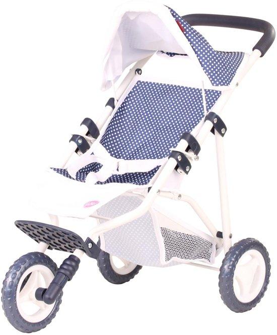 Götz accessoire 3-Rad-Buggy klein spotty blue