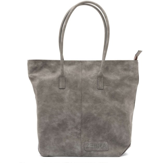 5933c7e6144 bol.com | Zebra Trends Natural Bag Kartel met Rits - FEARLESS