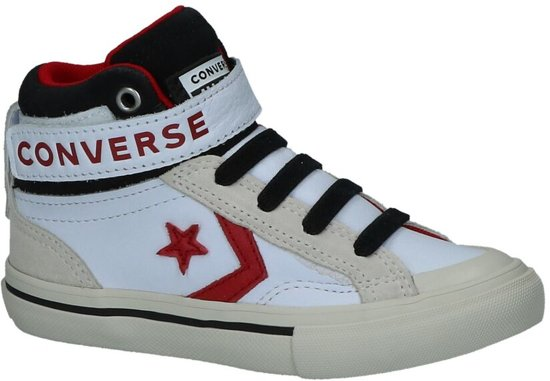 Converse Pro Blaze Strap Beige Sneakers Jongens 32