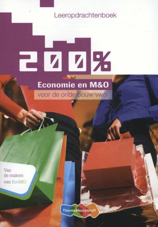 200 procent Economie en MenO deel Leeropdrachtenboek