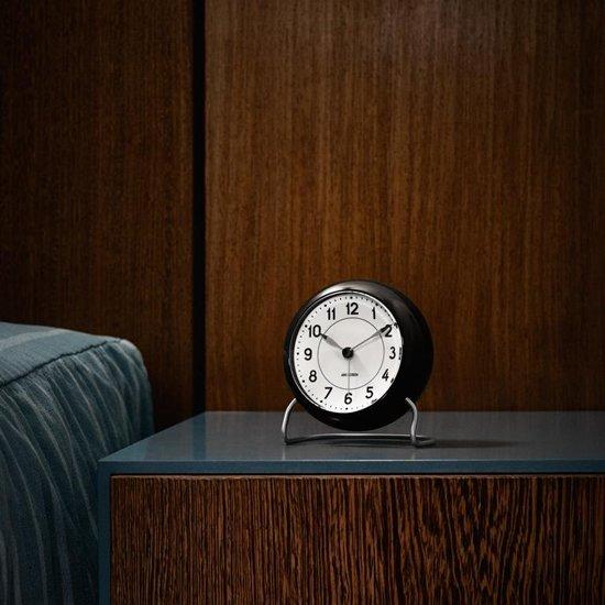 Arne Jacobsen Roman Tafelklok/Wekker à 11 cm