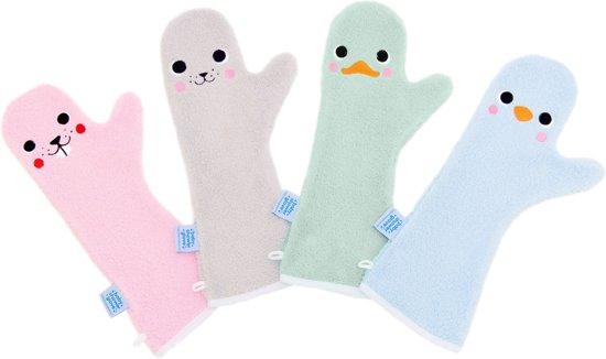 Baby Shower Glove zeehond grijs