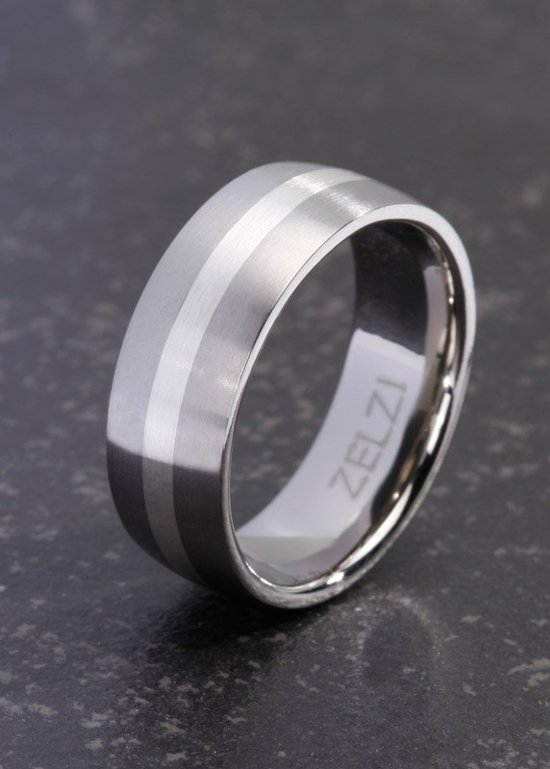 ZELZI Titanium ring:  Angelos 24millimeter