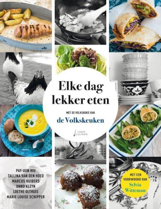 Boek cover Elke dag lekker eten van Onno H. Kleyn (Hardcover)