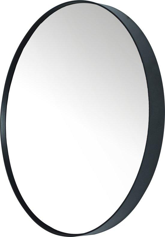 Bekend bol.com | Spinder Design Donna 5 - Spiegel - Rond - ø 90x5 cm - Zwart SL72