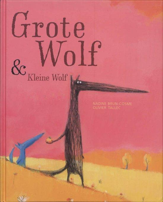 Grote wolf en kleine wolf