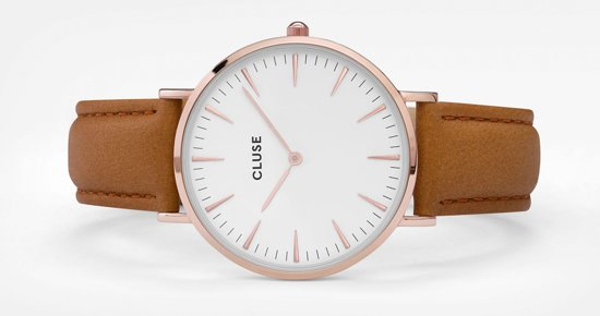 Cluse La Bohème Leather Horloge