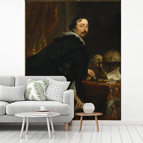 Fotobehang vinyl - Lucas van Uffel - Schilderij van Anthony van Dyck breedte 200 cm x hoogte 250 cm - Foto print op behang (in 7 formaten beschikbaar)