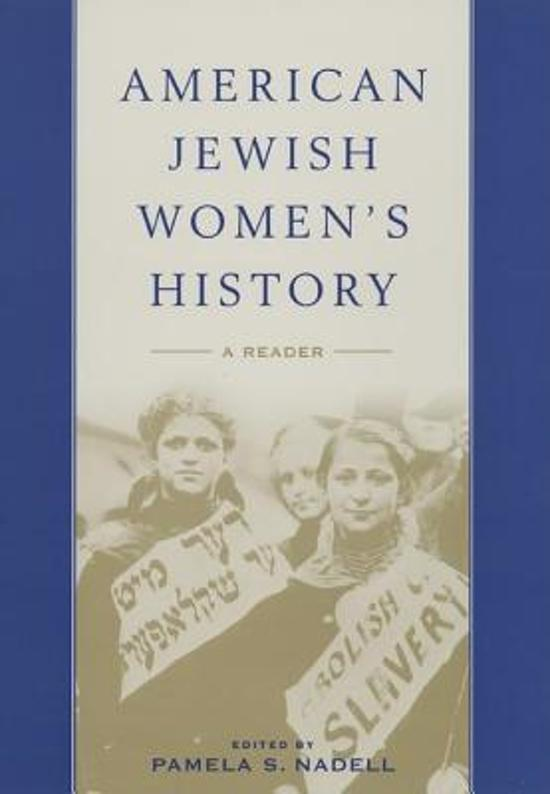 a history of the jewish american family
