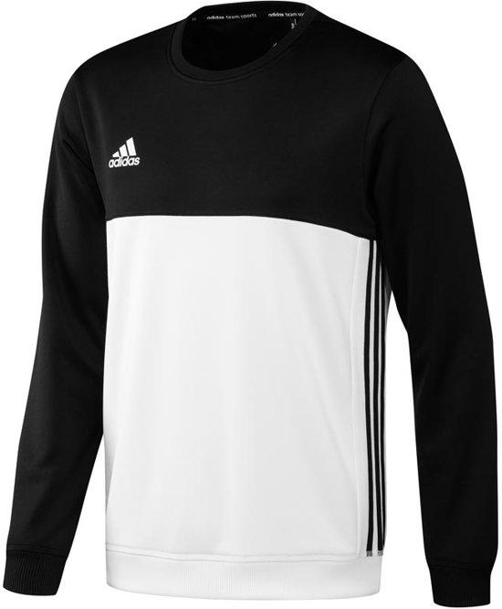 Adidas T16 'Offcourt' Crew Sweater Heren - Sweaters - zwart - L