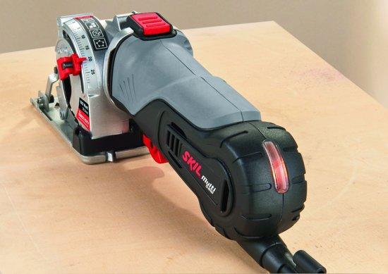 Skil 5330 AA Minicirkelzaag - 600 Watt - Met 3 zaagbladen en stofafzuigslang