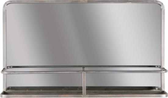 Spiegel Met Planchet.Bol Com Bepurehome Reflection Spiegel Zwart Met Planchet