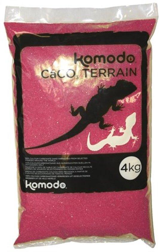 Komodo Caco Zand - Donkerrood - 4 kg
