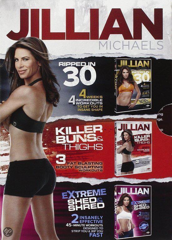 Jillian Michaels Fitness Triple DVD Box Set