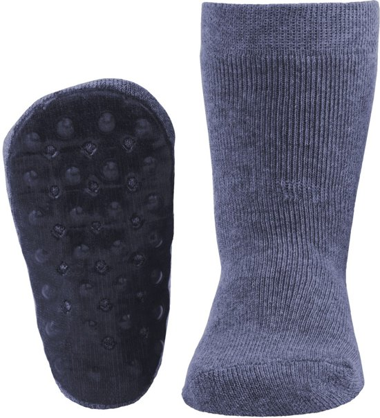Ewers anti-slip sokken Stoppi uni jeans Maat: 27-28