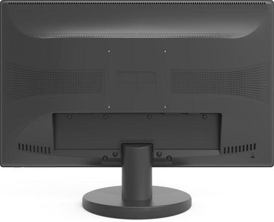 MEDION 30023033 21.5'' Full HD LED Flat Zwart computer monitor LED display