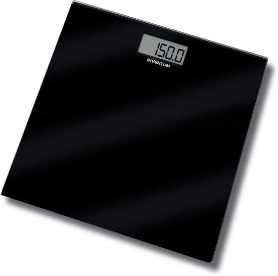 Inventum PW406GB - Personenweegschaal  - Zwart