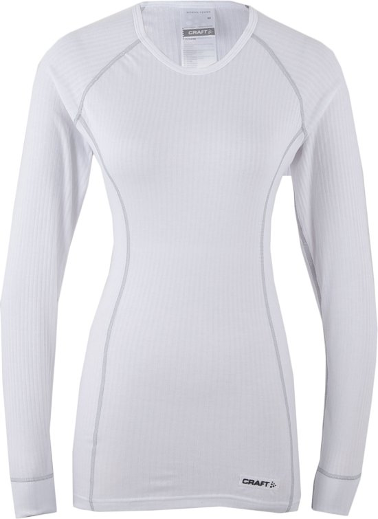 Craft Crewneck Thermoshirt Longsleeve 'Active' - Sportshirt - Dames - XL - Wit