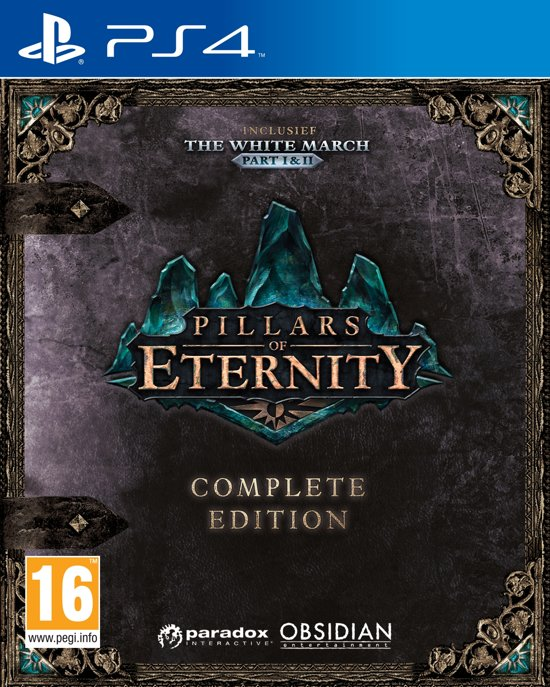 Pillars of Eternity (Complete Edition) PlayStation 4