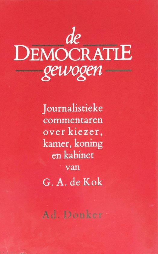 Democratie gewogen