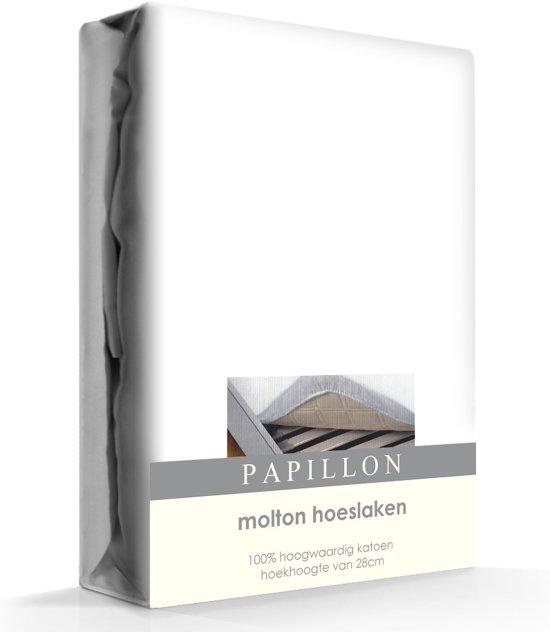Papillon hoeslaken - molton - katoen - 90 x 200