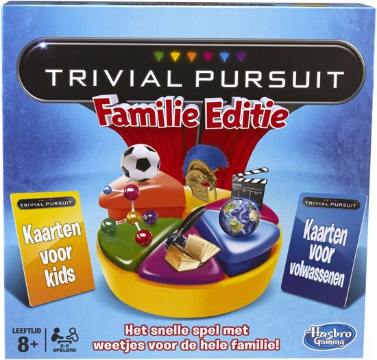 Trivial Pursuit Familie Editie VLAAMS - Bordspel - 2015