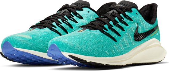 Nike Air Zoom Vomero 14 Sportschoenen Dames - Hyper Jade/Orange